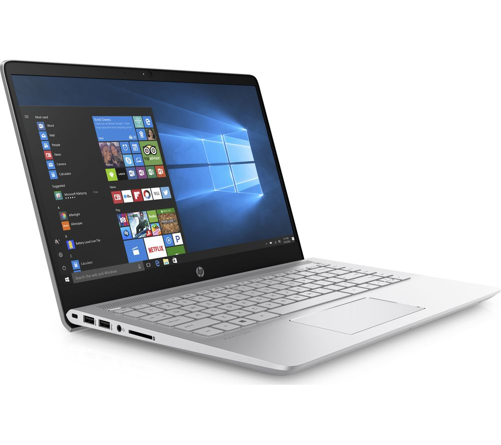 """HP Pavilion Pro 14-bf052na 14"""" Laptop - Silver + Office 365 Personal + LiveSafe Unlimited 2017 - 1 year"""