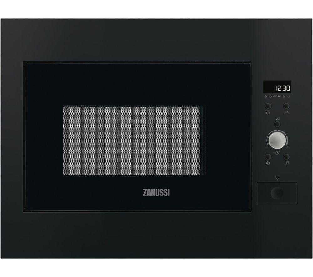 Zanussi Zbm26642ba Built-in Solo Microwave - Black, Black