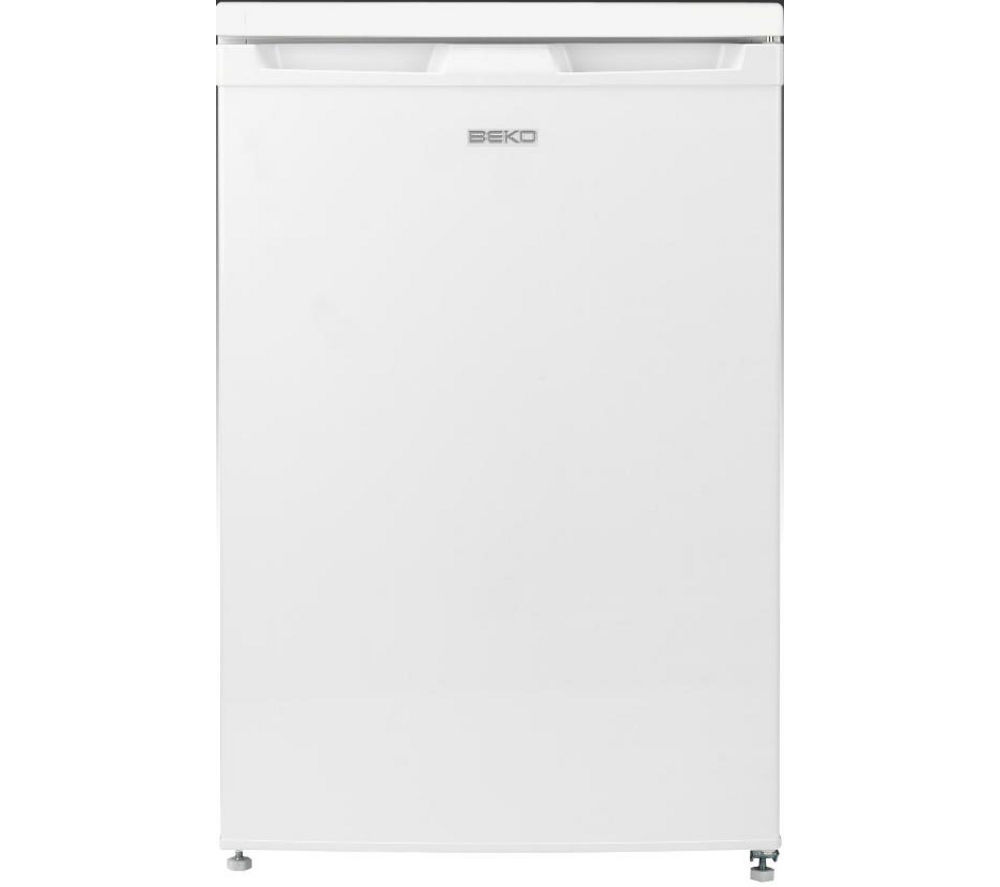 BEKO  FXF5033W Undercounter Freezer – White +  Select DSX83410W Heat Pump Tumble Dryer - White
