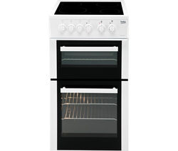 BEKO BDC5422AW Electric Ceramic Cooker - White