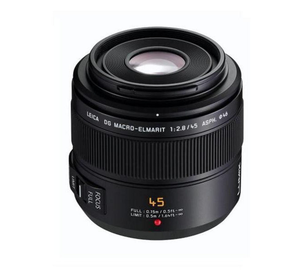 PANASONIC H-ES045E 45 mm f/2.8 Macro Lens + DSLR Cleaning Kit