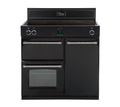 BELLING Classic 900Ei Electric Induction Range Cooker - Black