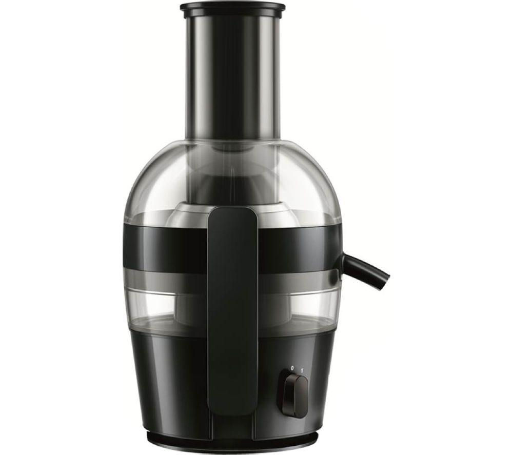 Philips Slow Juicer Hr1855 : Buy PHILIPS viva HR1855/01 Juicer - Black Free Delivery Currys