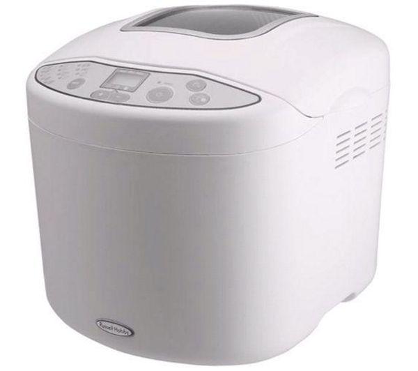 RUSSELL HOBBS 18036 Compact Breadmaker - White
