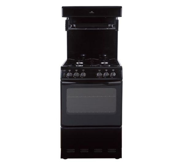 NEW WORLD  55THLG Gas Cooker  Black Black