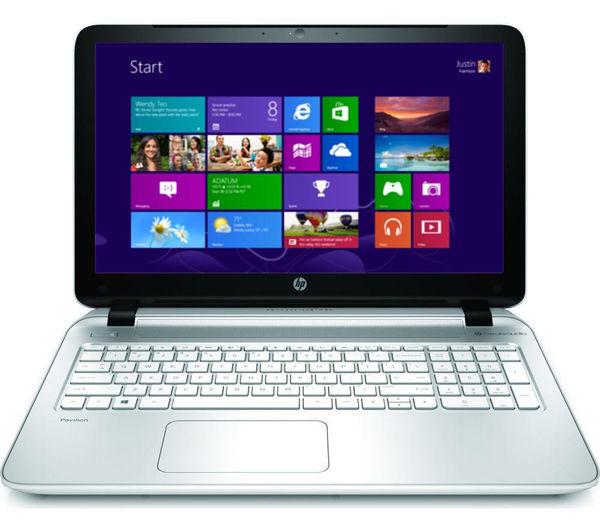 Hp Pavilion 15p088sa Refurbished 15.6 Laptop  White White