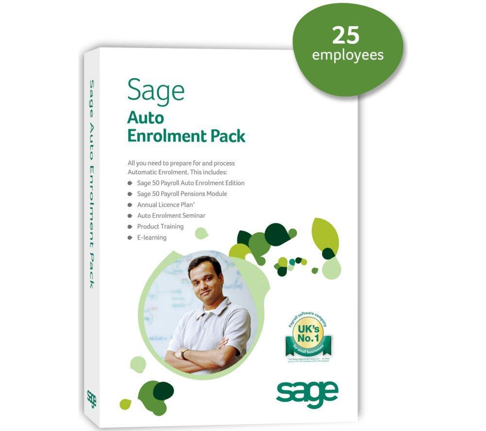 SAGE Auto Enrolment Pack