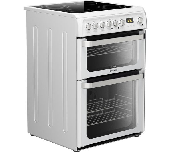 Buy Hotpoint Ultima Hue61ps Electric Ceramic Cooker