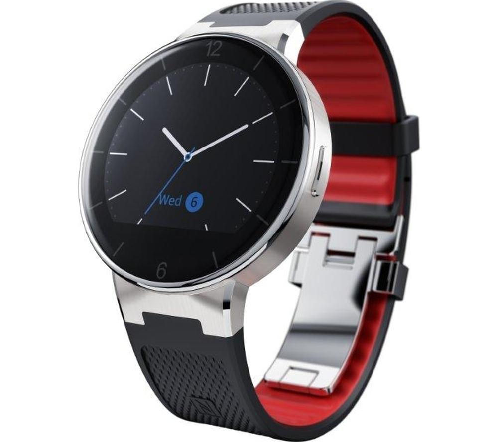 Buy Alcatel Onetouch Smartwatch Black Free Delivery
