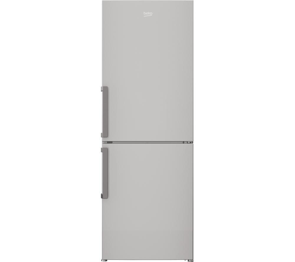 BEKO CFP1675S 60/40 Fridge Freezer - Silver + DCX83100W Condenser Tumble Dryer - White