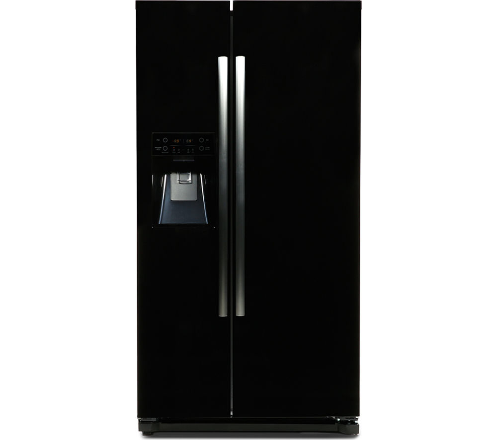 buy daewoo drq29deb american style fridge freezer black. Black Bedroom Furniture Sets. Home Design Ideas
