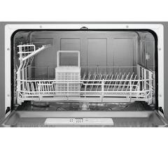 AEG ZDM17301SA Compact Dishwasher - Silver