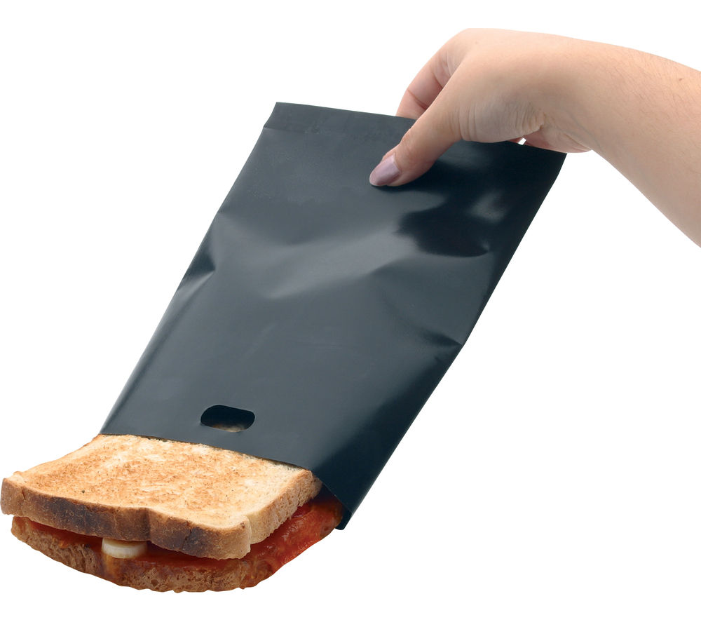 KITCHEN CRAFT  NonStick Reusable Toaster Bags  Pack of 2