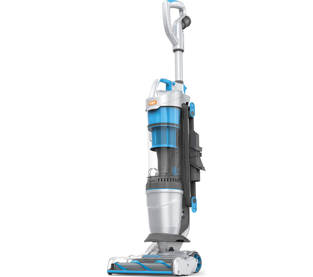 VAX  Air Lift Steerable Pets U84ALPe Upright Bagless Vacuum Cleaner  Blue & Silver Blue