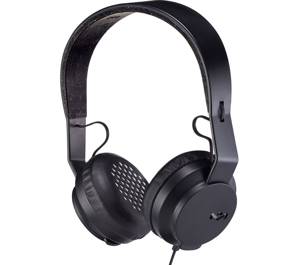 Click to view more of HOUSE OF MARLEY  Roar EM-JH081-BK Headphones - Black, Black