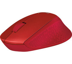 LOGITECH M320 Wireless Optical Mouse - Red