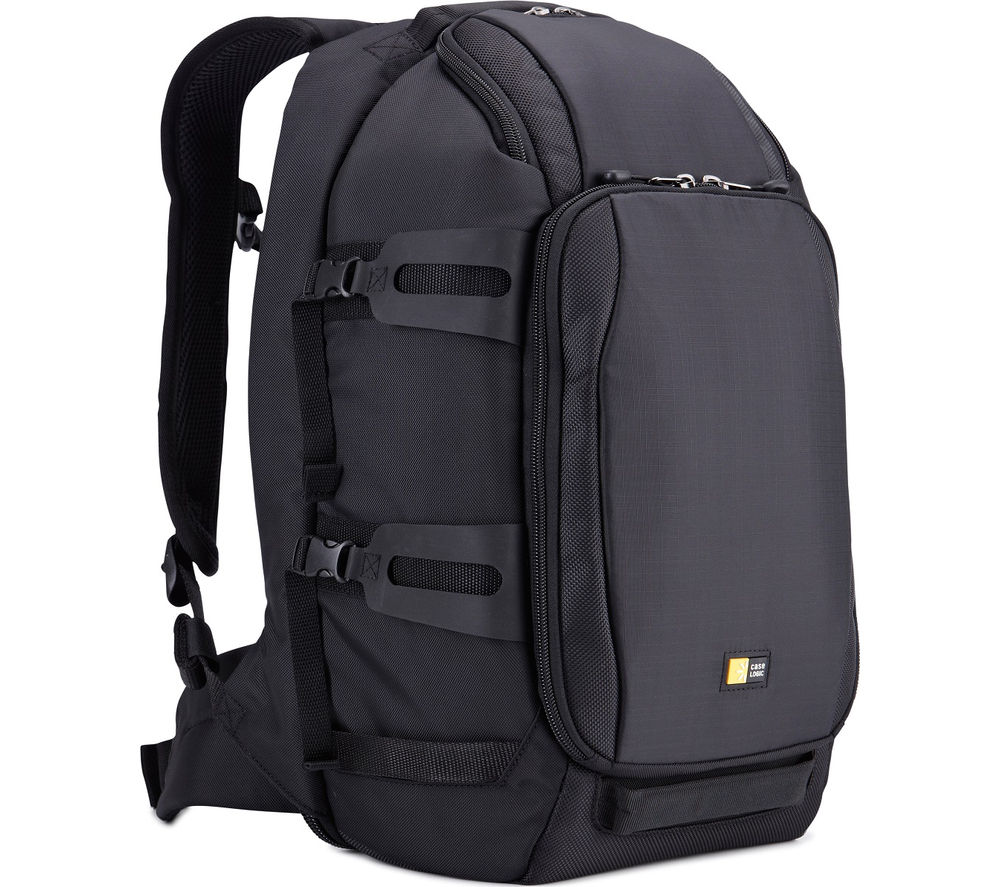 CASE LOGIC  DSB-101 Luminosity Medium DSLR  iPad Backpack - Black, Black