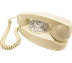 WILD & WOLF Princess Corded Phone – Cream