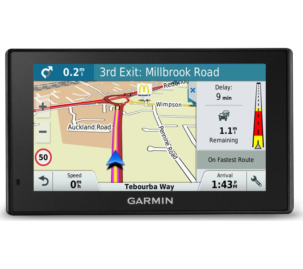 "GARMIN DriveSmart 60 LMT-D EU 6"" Sat Nav - with UK, ROI & Full Europe Maps"