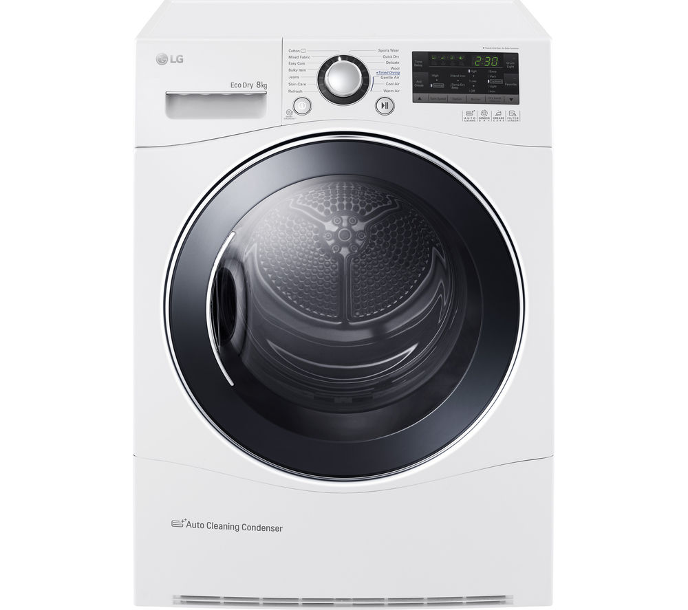Tumble Dryer Temperature ~ Buy lg rc ah m heat pump tumble dryer white free