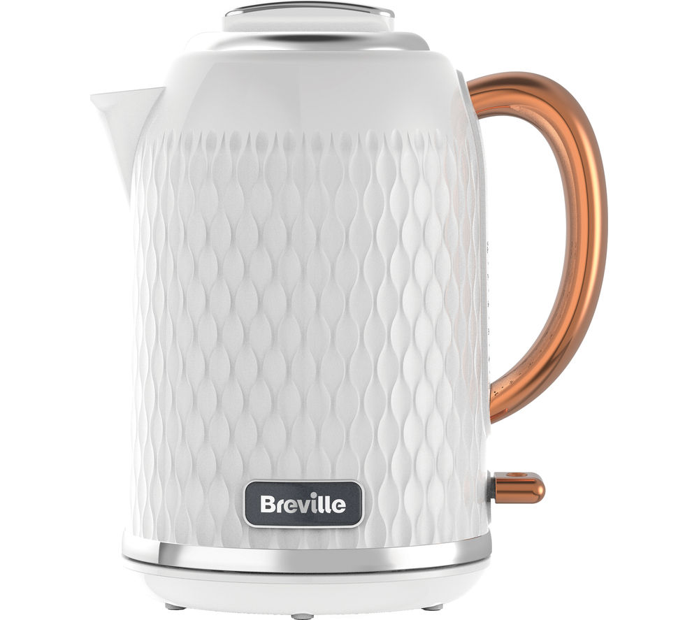 Buy Breville Curve Vkt018 Jug Kettle White Amp Rose Gold
