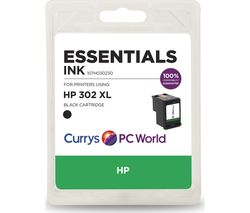 ESSENTIALS 302 XL Black HP Ink Cartridge