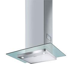 SMEG KFV62DE Chimney Cooker Hood - Stainless Steel & Glass