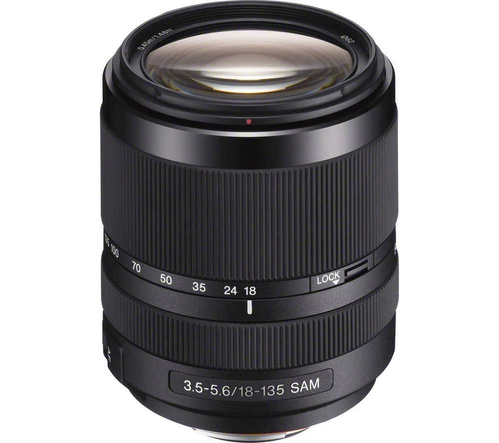 SONY SAL18135 18-135mm f/3.5-5.6 SAM Standard Zoom Lens
