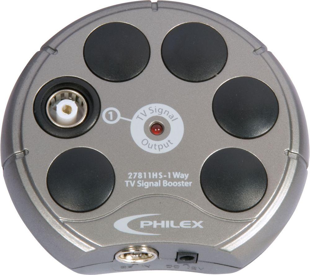 SLX 27811HSG/03 1-Way TV Signal Booster