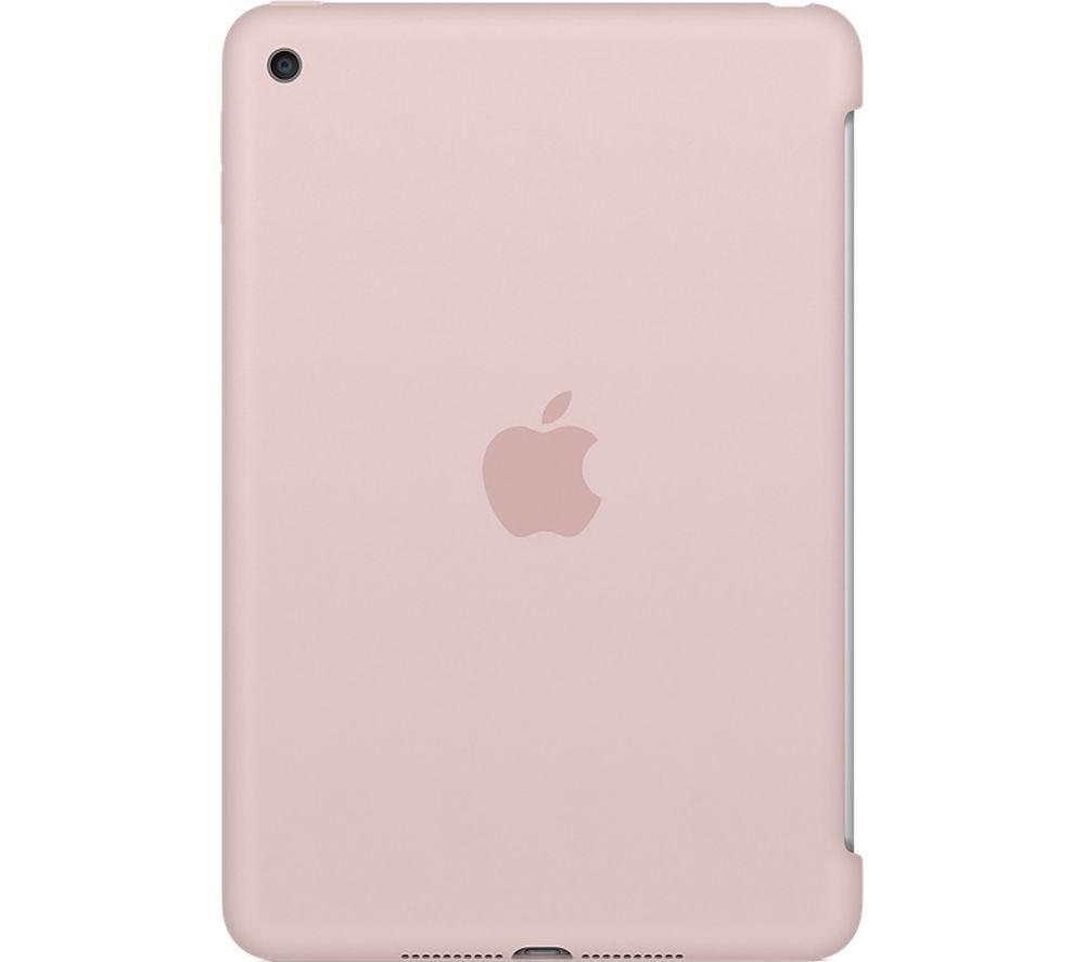 APPLE Silicone iPad Mini 4 Cover - Pink Sand