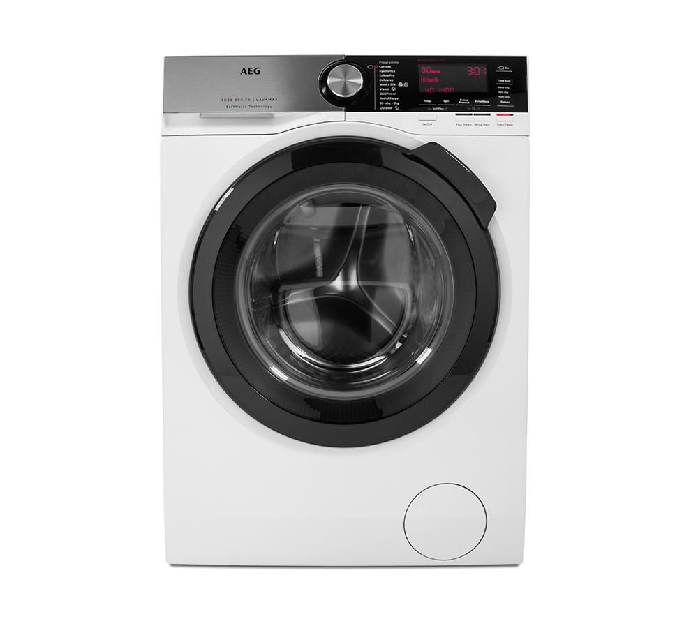 AEG SoftWater L9FSC949R Washing Machine  White White