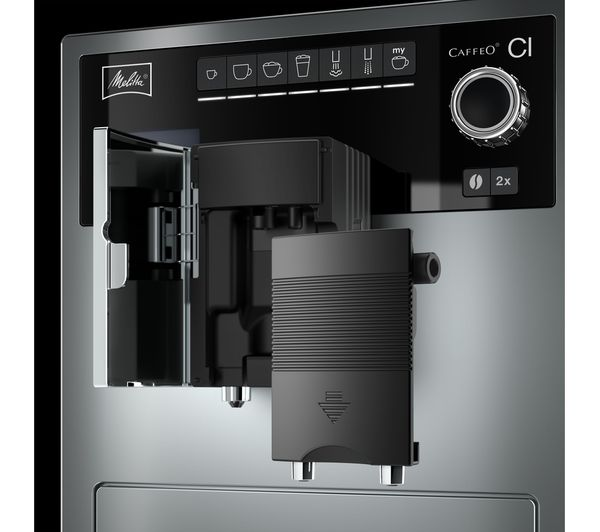 buy melitta caffeo ci bean to cup coffee machine silver. Black Bedroom Furniture Sets. Home Design Ideas