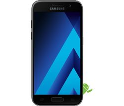 SAMSUNG Galaxy A3 (2017) - 16 GB, Black