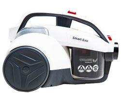 HOOVER Smart Evo LA71SM10 Cylinder Bagless Vacuum Cleaner - White