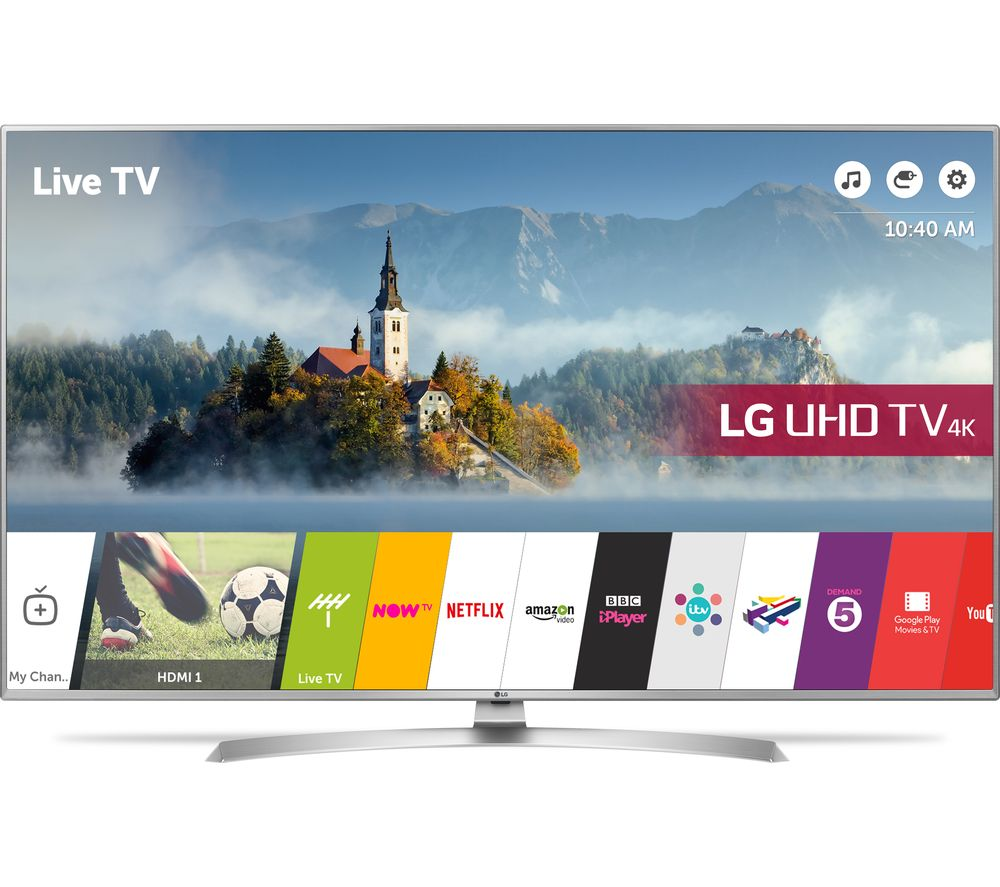 "LG 55UJ701V 55"" Smart 4K Ultra HD HDR LED TV"