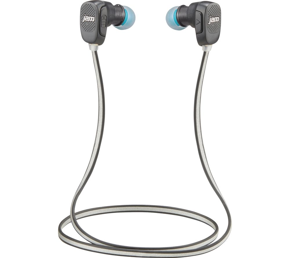 JAM Transit Wireless Bluetooth Headphones - Blue