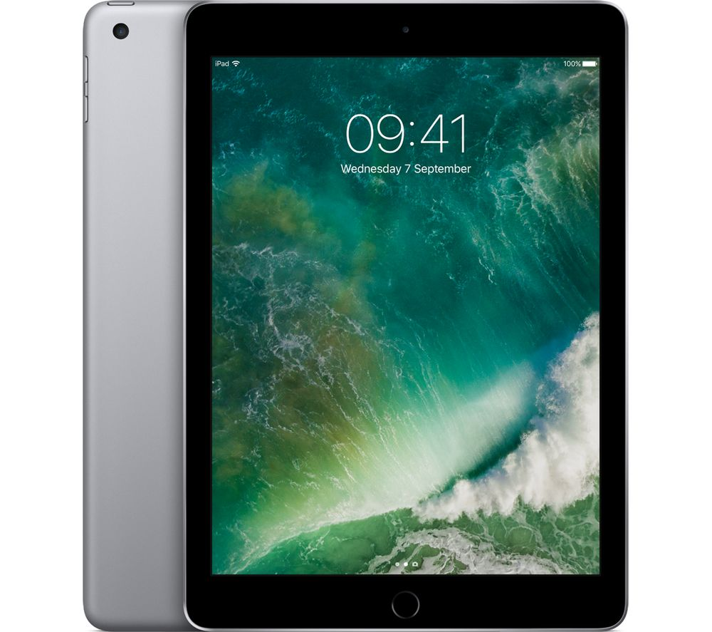 "APPLE 9.7"" iPad - 32 GB, Space Grey"