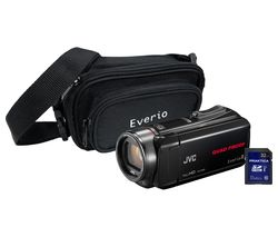 JVC GZ-R435 Camcorder Kit - Black
