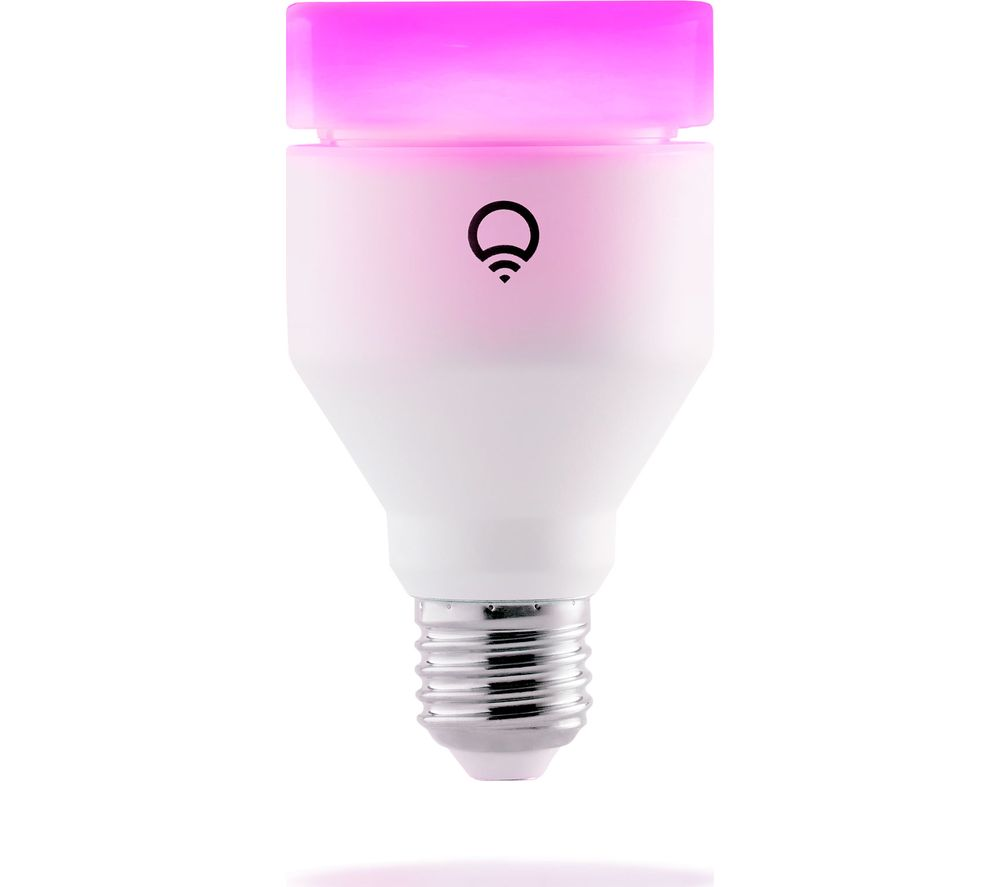 Lifx color 1000 smart rgb light bulb e27 deals pc world Smart light bulbs