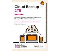 KNOWHOW Cloud Storage Backup Service - 2 TB