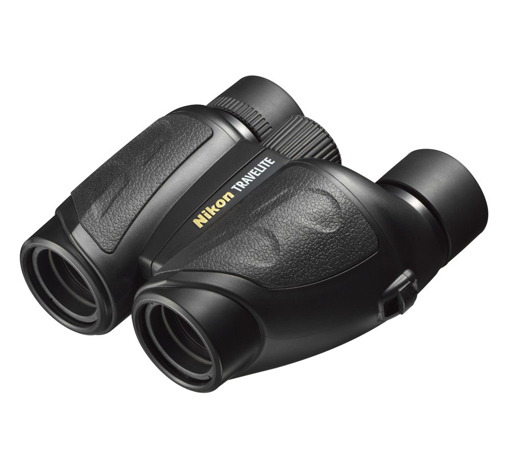 NIKON Travelite EX 8 x 25 mm Binoculars - Black