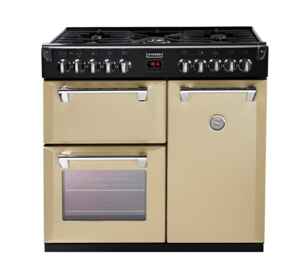 buy stoves richmond 900dft dual fuel range cooker. Black Bedroom Furniture Sets. Home Design Ideas