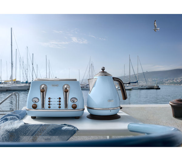 Buy Delonghi Icona Vintage Kbov3001az Jug Kettle Azure