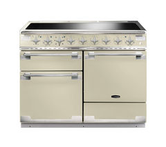 RANGEMASTER Elise 110 Electric Induction Range Cooker - Cream & Chrome