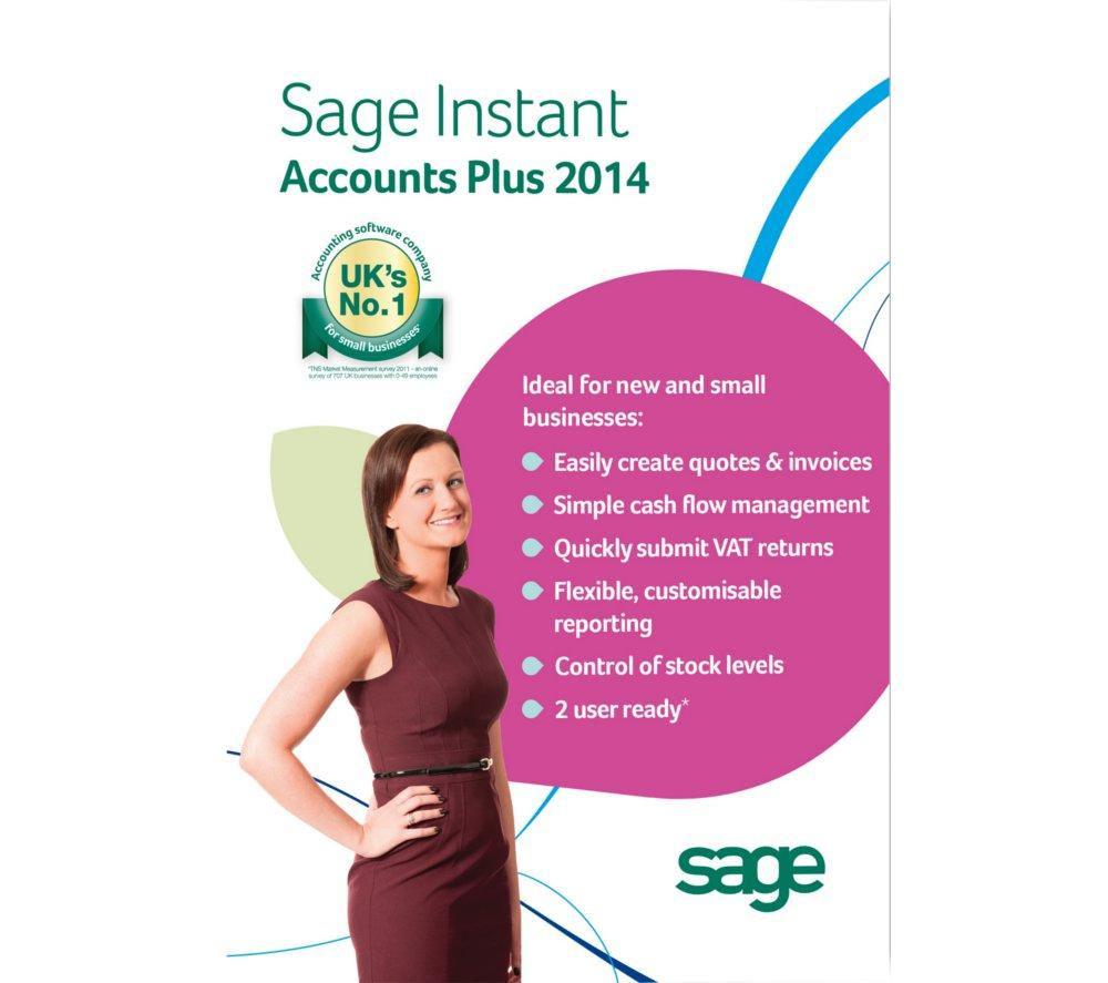 SAGE Instant Accounts Plus 2014