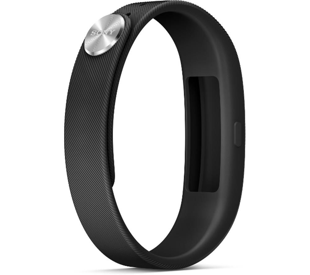 Sony SWR10 SmartBand Activity Tracking Wristband - Black