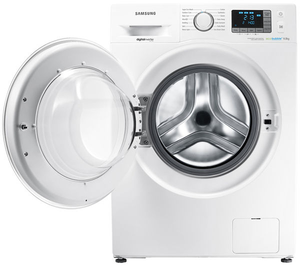 buy samsung ecobubble wf90f5e5u4w washing machine white. Black Bedroom Furniture Sets. Home Design Ideas