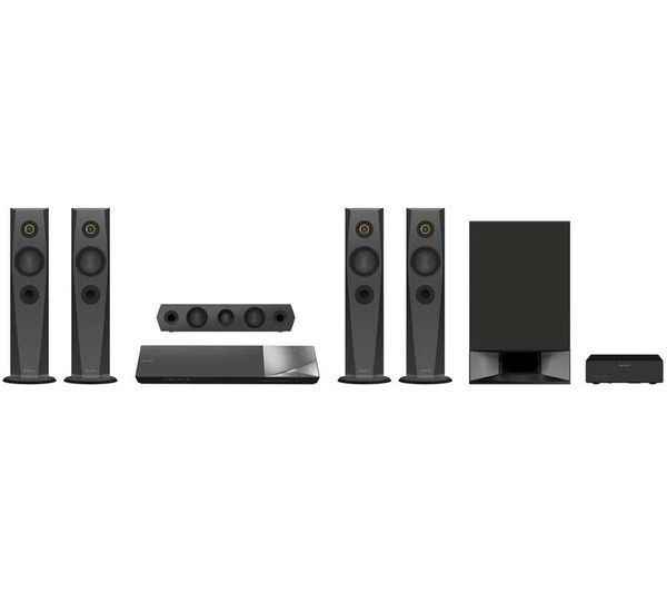 Sony BDV-N7200W 1000W 5.1-Channel Blu-ray Home Theater System with Bluetooth