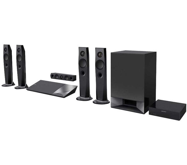 sony bdvn7200wb cek 5 1 smart 3d blu ray home cinema system deals pc world. Black Bedroom Furniture Sets. Home Design Ideas
