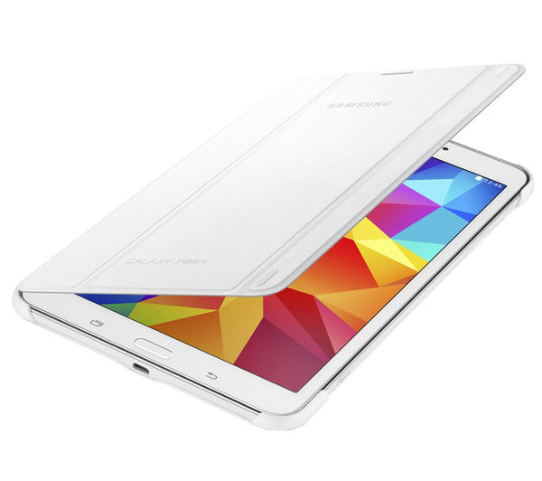 Samsung Tab Book Cover White ~ Samsung galaxy tab book cover white deals pc world